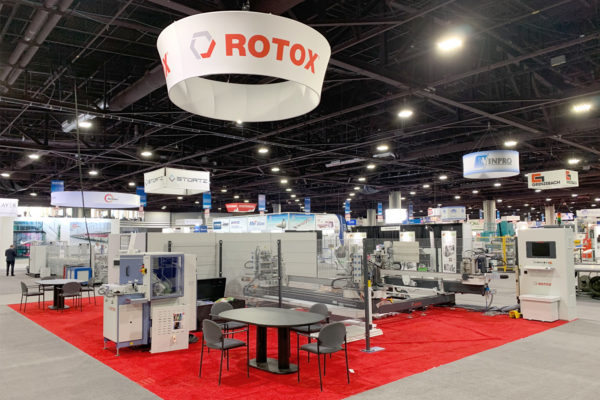 ROTOX USA Inc. auf der GlassBuild America 2019 in Atlanta.